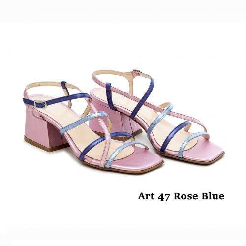 Women Shoes Art 47 Rose Blue