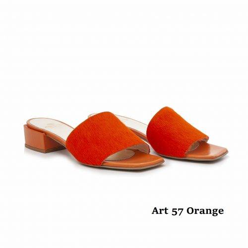 Women Shoes Art 57 Orange