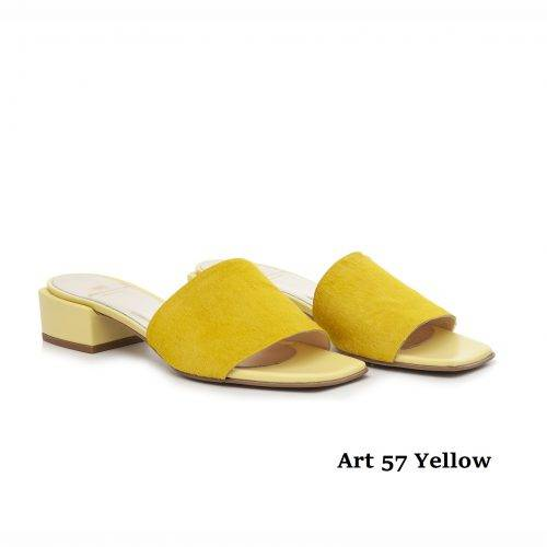Women Shoes Art 57 Yellow