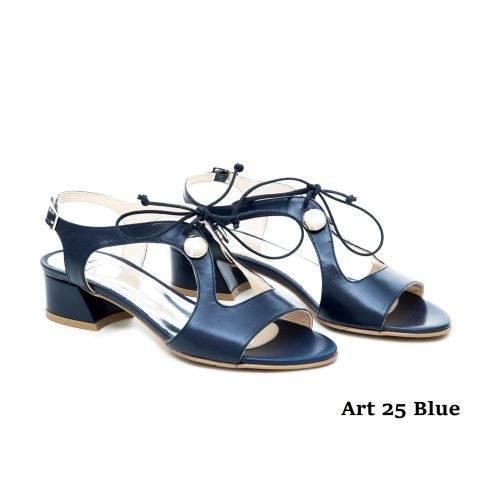 Women Shoes Art 25 Blue