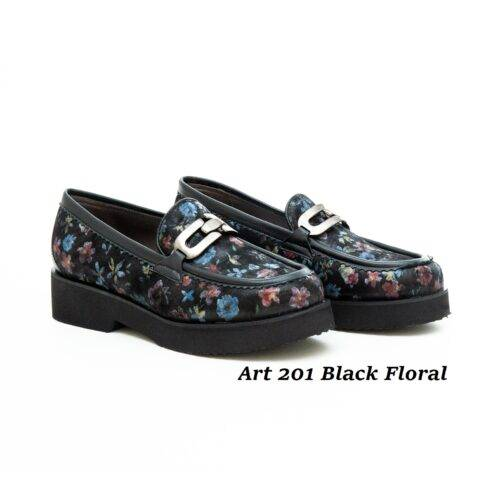 Women Shoes Art 201 Floral
