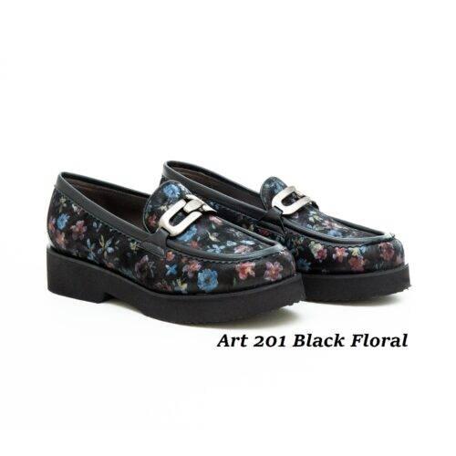 Women Shoes Art 201 Floral