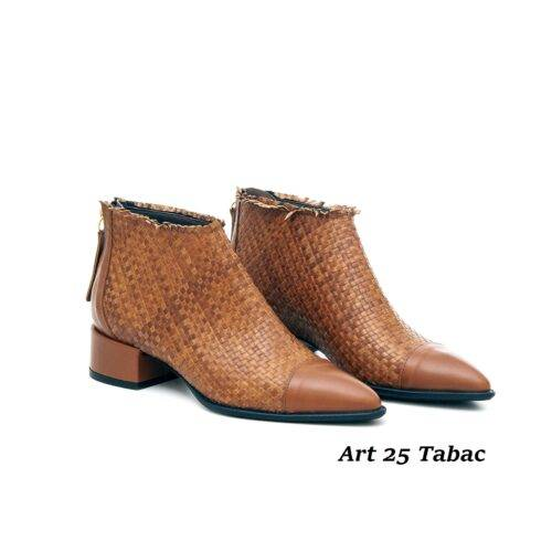 Women Shoes Art 25 Tabac