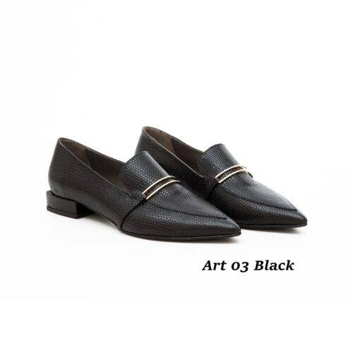 Women Shoes Art 03 Black
