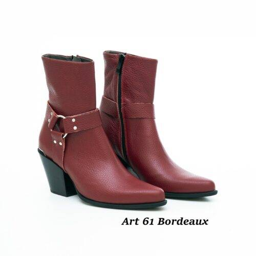 Women Shoes Art 61 Bordeaux