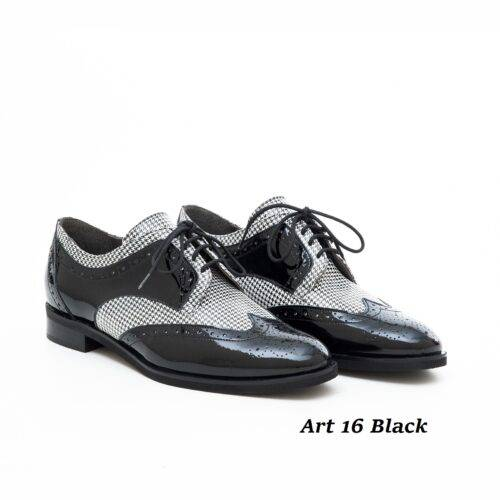 Women Shoes Art 16 Black & White