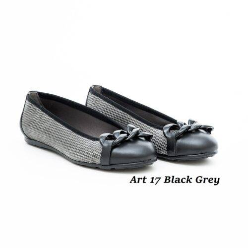 Women Shoes Art 17 Black Grey