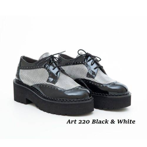 Women Shoes Art 220 Black & White