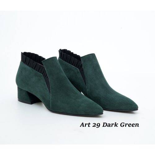 Women Shoes Art 29 Dark Green