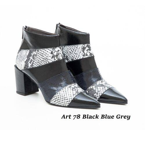 Women Shoes Art 78 Black Blue Grey
