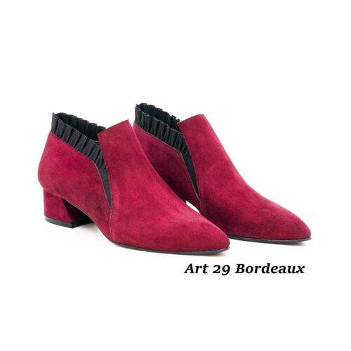 Women Shoes Art 29 Bordeaux