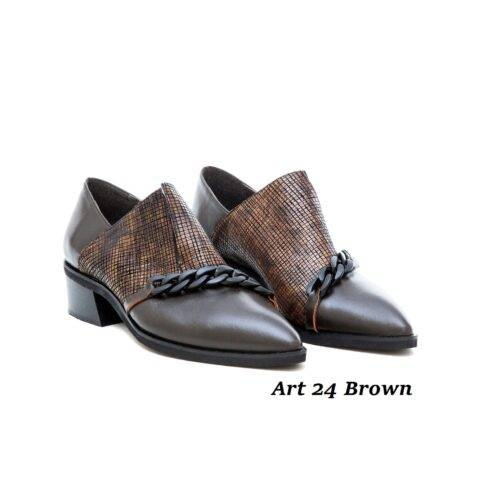 Women Shoes Art 24 Brown