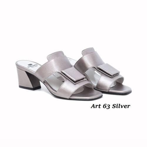 Women Shoes Art 63 Silver