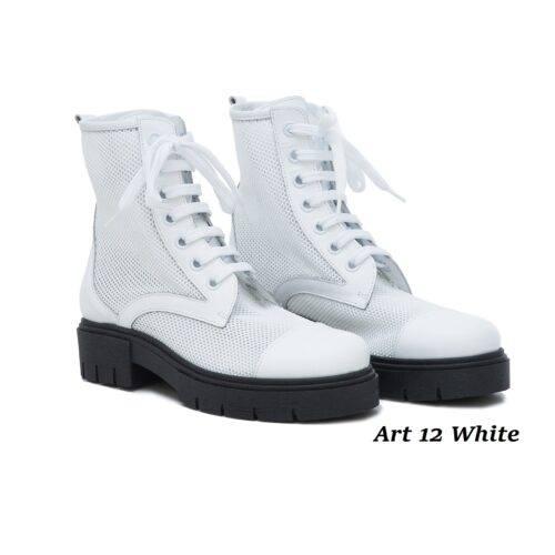 Women Shoes Art 12 White