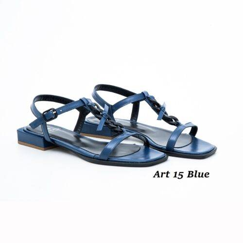 Women Shoes Art 15 Blue