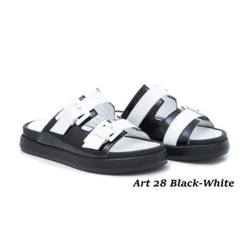 Women Shoes Art 28 Black-White