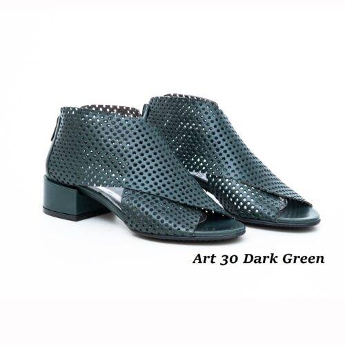 Women Shoes Art 30 Dark Green
