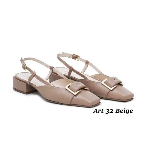 Women Shoes Art 32 Beige