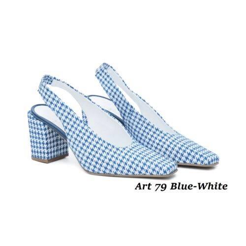 Women Shoes Art 79 Blue-White