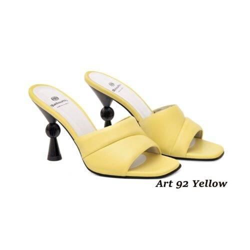 Women Shoes Art 92 Yellow