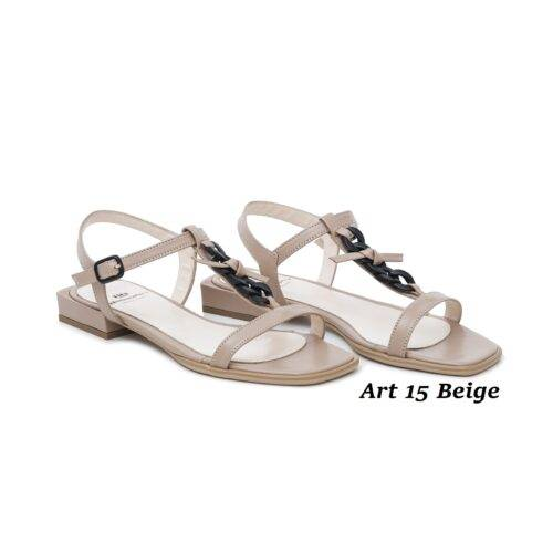 Women Shoes Art 15 Beige