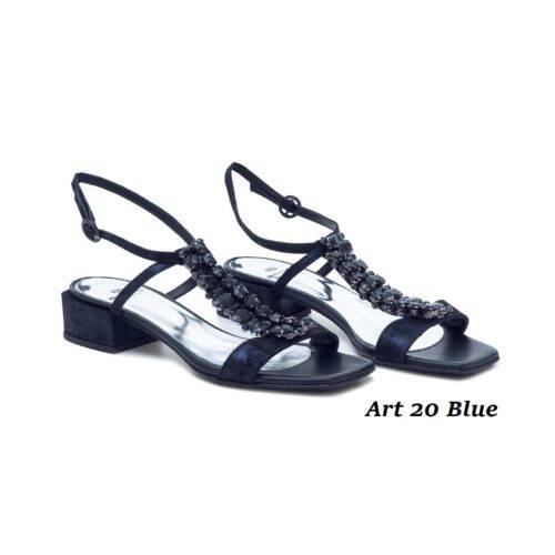 Women Shoes Art 20 Blue
