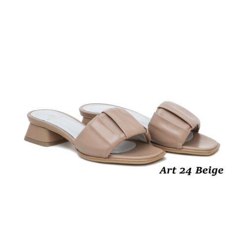 Women Shoes Art 24 Beige