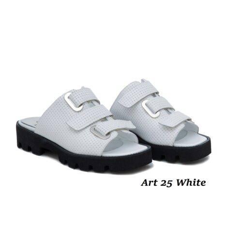 Women Shoes Art 25 White