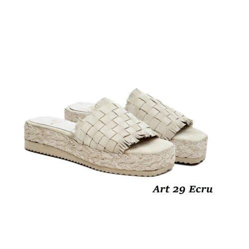 Women Shoes Art 29 Ecru