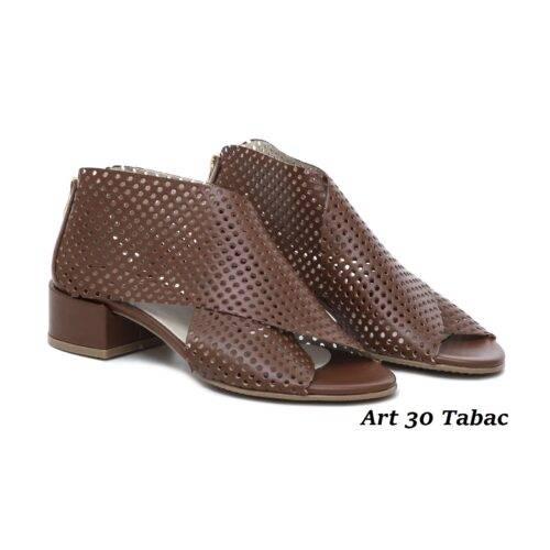 Women Shoes Art 30 Tabac