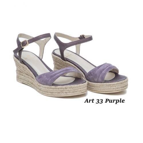 Women Shoes Art 33 Purple