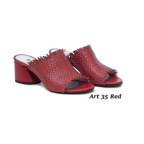 Women Shoes Art 35 Red