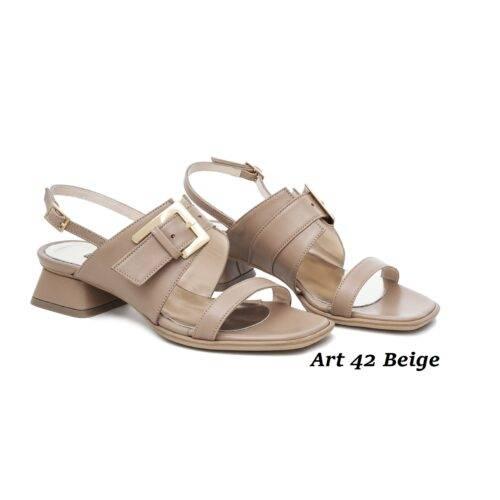 Women Shoes Art 42 Beige