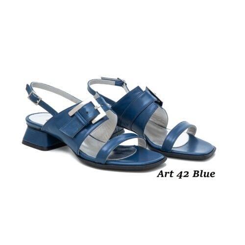 Women Shoes Art 42 Blue