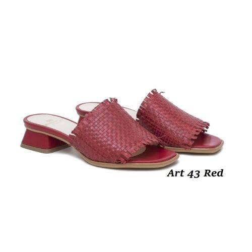 Women Shoes Art 43 Red