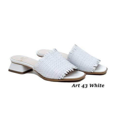 Women Shoes Art 43 White