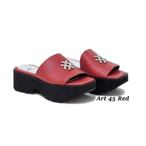 Women Shoes Art 45 Red