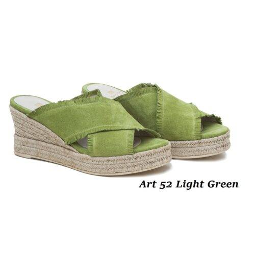 Women Shoes Art 52 Light Green