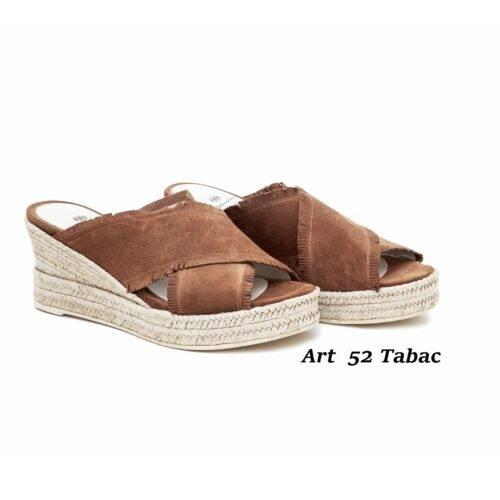 Women Shoes Art 52 Tabac