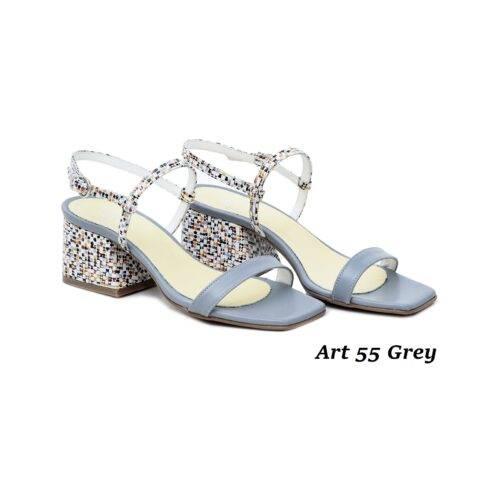Women Shoes Art 55 Grey