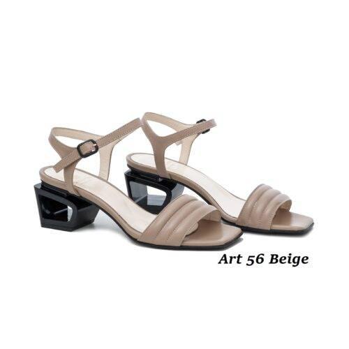 Women Shoes Art 56 Beige