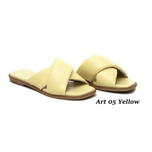 Women Shoes Art 05 Yellow