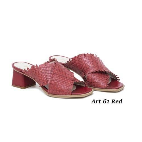 Women Shoes Art 61 Red