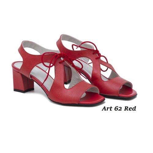 Women Shoes Art 62 Red