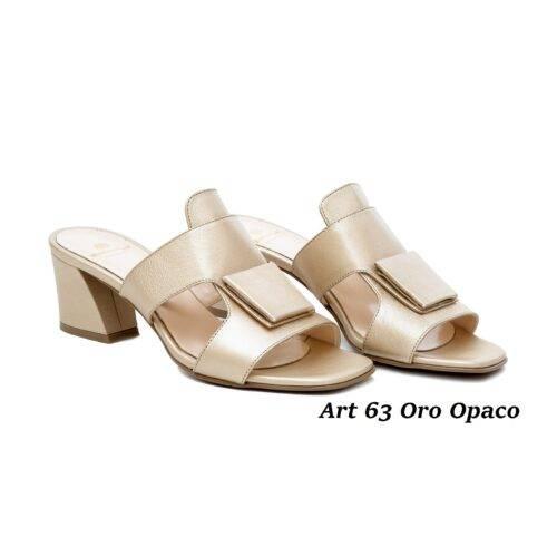 Women Shoes Art 63 Oro Opaco