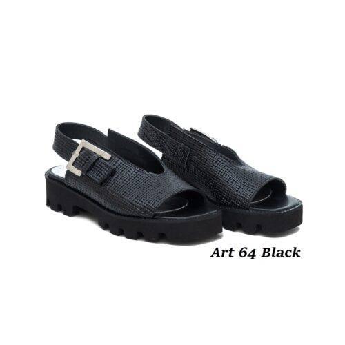 Women Shoes Art 64 Black