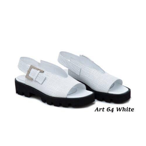 Women Shoes Art 64 White