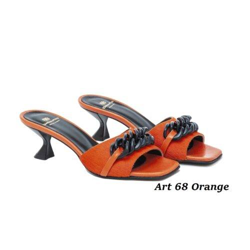 Women Shoes Art 68 Orange