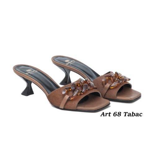 Women Shoes Art 68 Tabac