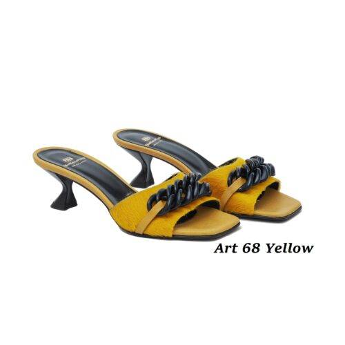 Women Shoes Art 68 Yellow
